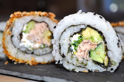 sushi pane Maki et California rolls maison