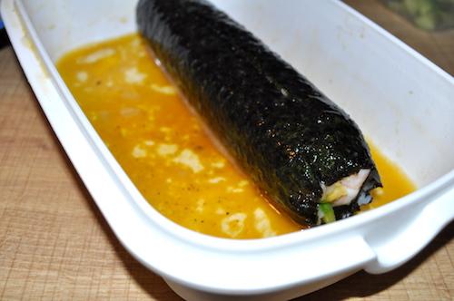 sushi Maki et California rolls maison