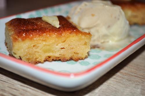 dessert aux pommes Moelleux aux pommes