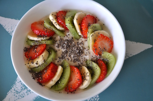 flocon d avoine Porridge aux Fruits