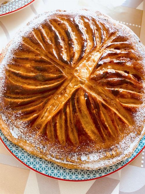 galette frangipane Galette des Rois à la Frangipane et Framboises