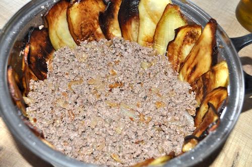 recette syrienne Maklouba aux Aubergines