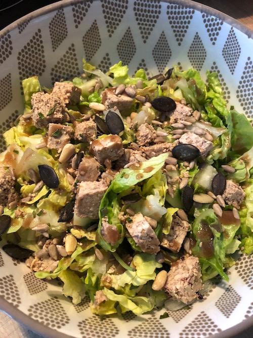 salade tofu lactofermente