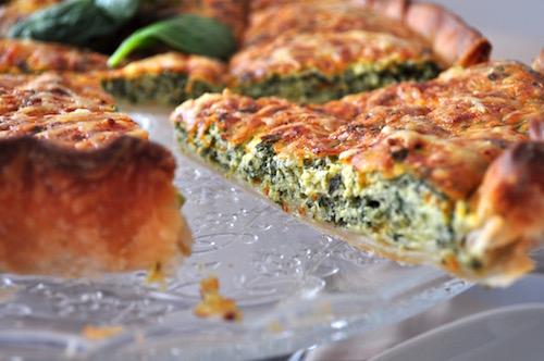 recette avec ricotta Tarte épinards ricotta