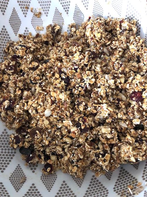 cereale barre Barres de céréales maison