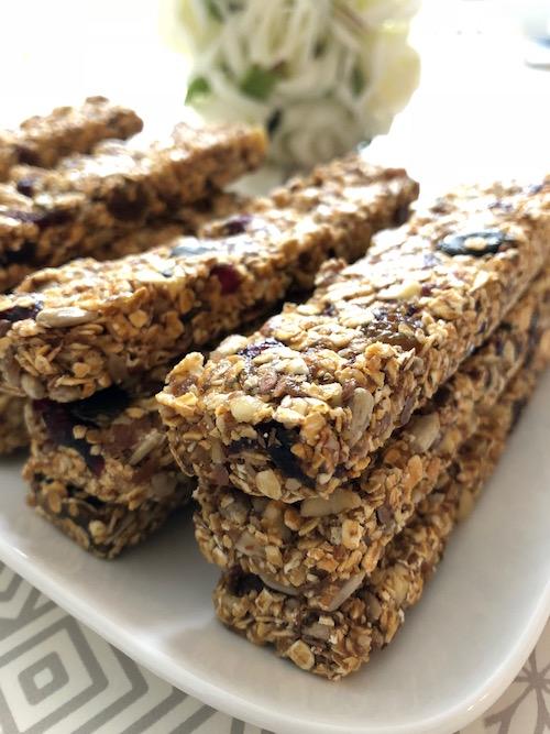 granola barre Barres de céréales maison