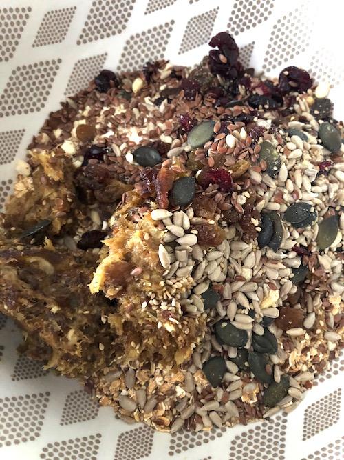 healty food Barres de céréales maison