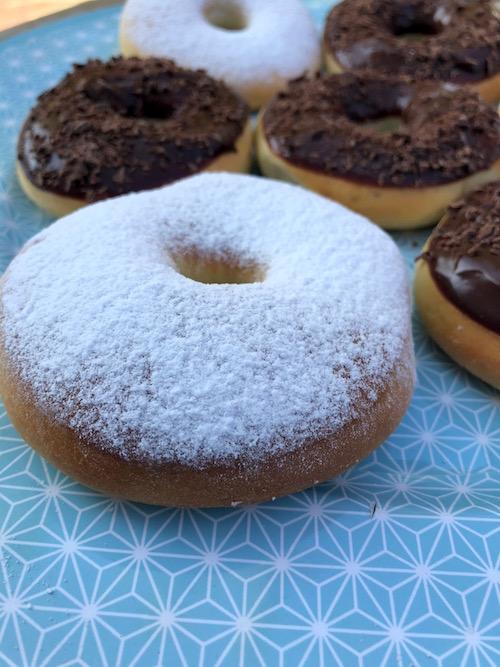 donuts au sucre Donuts au four