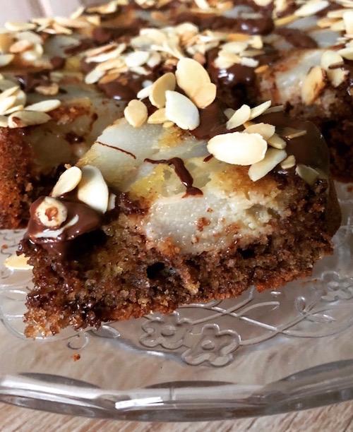 gateau au chocolat Gâteau poires chocolat