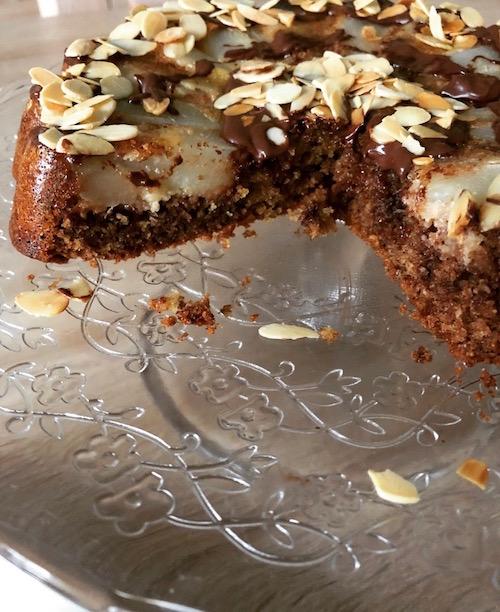 gateau au poires Gâteau poires chocolat
